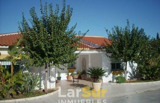 Villa independiente con finca en venta en Alhaurin de la Torre